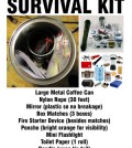 Coffee Can Survival Kit