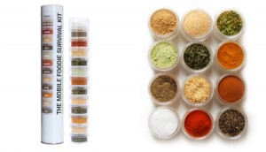 Mobile Food Storage and Spice Kit